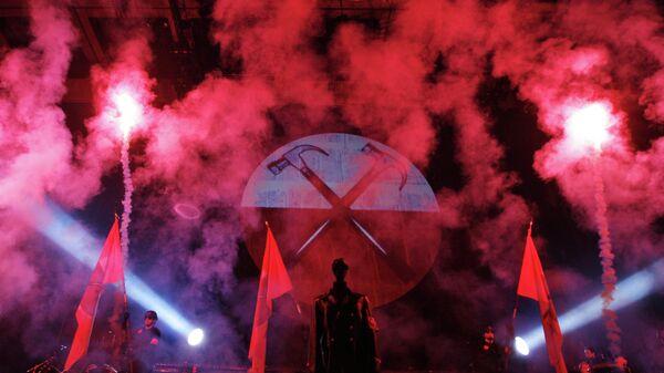 Шоу основателя группы Pink Floyd Роджера Уотерса, архивное фото