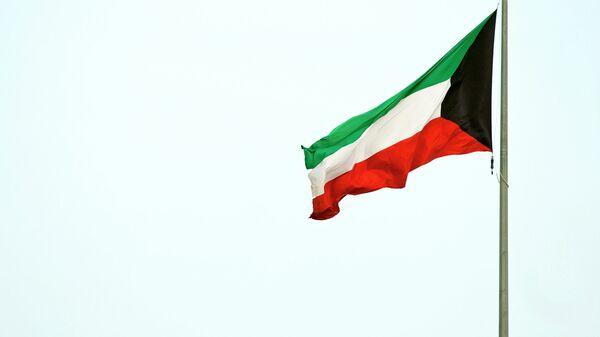 Флаг Кувейта. Архивное фото