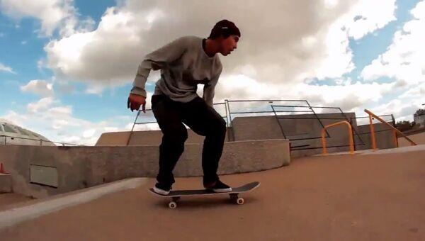 Скейтеры-трюкачи