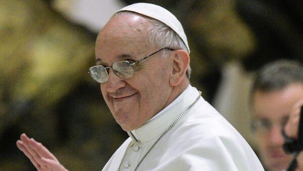 Папа Римский Франциск. Архивное фото