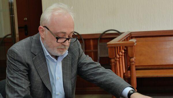 Экс-руководитель госкорпорации Роснано Леонид Меламед. Архивное фото