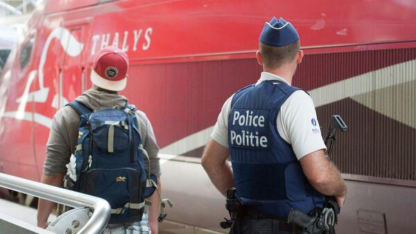 Полиция Бельгии. Архивное фото.