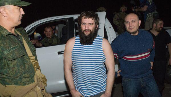 Обмен пленными между украинской стороной и Донецкой народной республикой