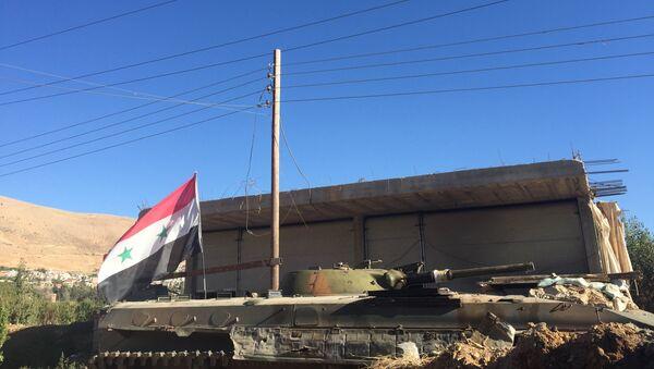 Позиции сирийской армии. Архивное фото