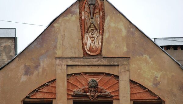 Дом Лишневского на Лахтинской улице, 24. Архивное фото