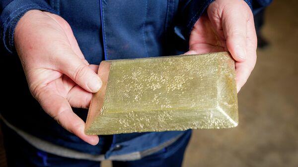 Добыча золота на руднике Ирокинда в Бурятии. Архивное фото