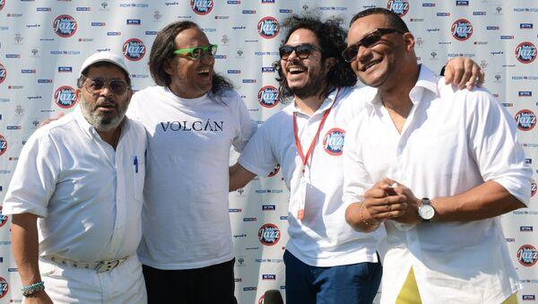 Кубинские музыканты - участники Международного джазового фестиваля Koktebel Jazz Party