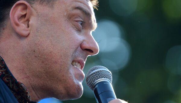Лидер националистической партии Свобода Олег Тягнибок. Архив