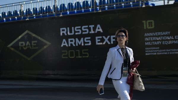 Участница 10-ой международной выставки Russia arms expo