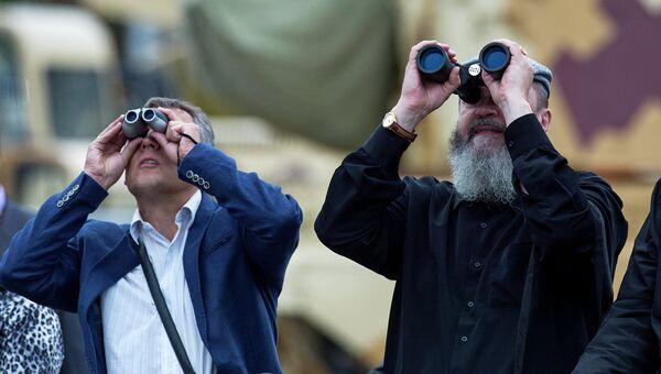 Открытие 10-ой международной выставки Russia arms expo. Архивное фото
