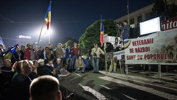 Акции протеста в Кишиневе, архивное фото