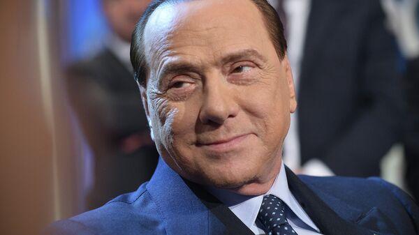 Итальянский государственный и политический деятель Сильвио Берлускони. Архивное фото