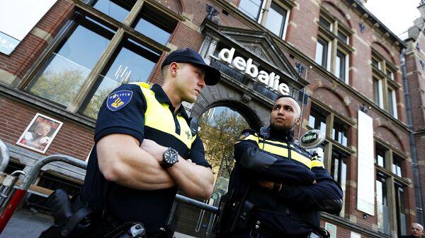 Сотрудники полиции в Нидерландах. Архивное фото