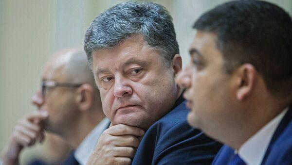 Президент Украины Пётр Порошенко. Архивное фото