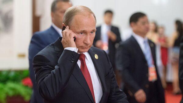 Президент России Владимир Путин.Архивное фото