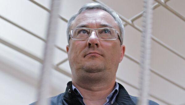 Бывший глава Республики Коми Вячеслав Гайзер в суде. Архивное фото