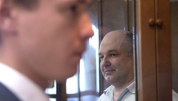 Оглашение приговора экс-сотруднику ГРУ Геннадию Кравцову