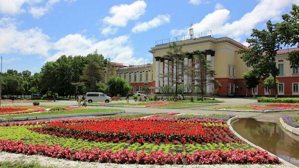 Дворец Культуры Угольщиков, город Артем, Приморский край