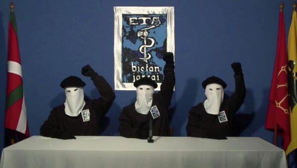 Баскская террористическая организация ЭТА. Архивное фото