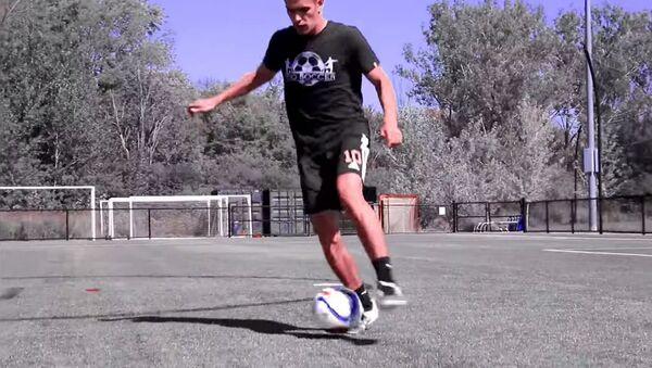 Виртуальная тренировка: трюки с мячом