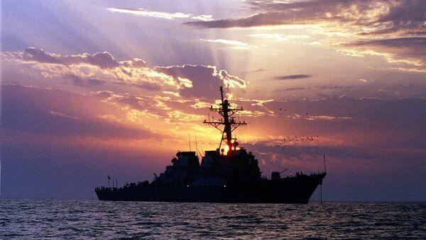 Эсминец ВМС США USS Carney. Архивное фото