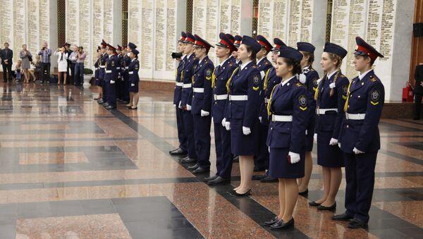 Воспитанники Кадетского корпуса имени Александра Невского. Архивное фото