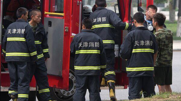 Китайские пожарные. Архивное фото