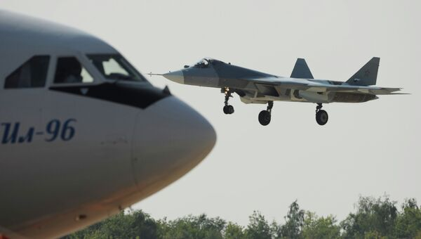 Российский многоцелевой истребитель пятого поколения Т-50