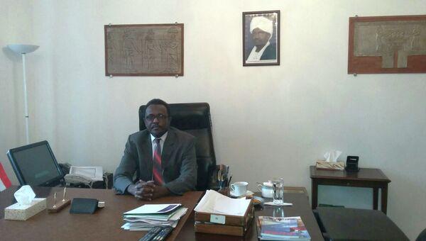 Посол Судана в России Надир Бабикер