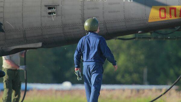 Летчик ВВС России