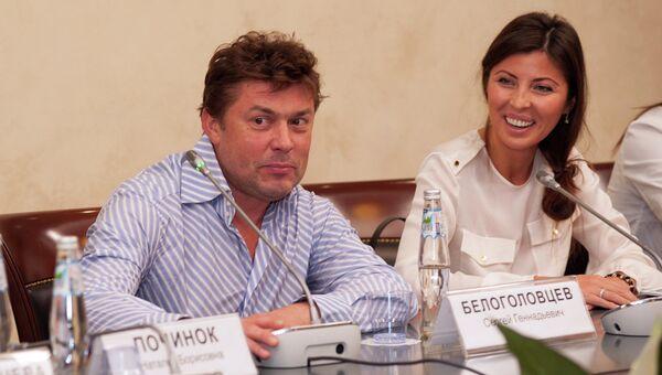 Сергей Белоголовцев на круглом столе, посвященном социальной программе Лыжи мечты