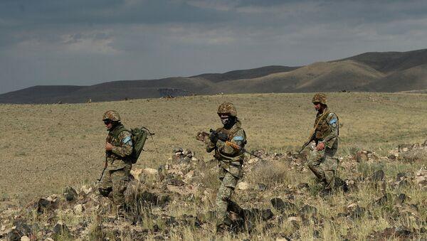 Миротворцы Минобороны Армении. Архивное фото