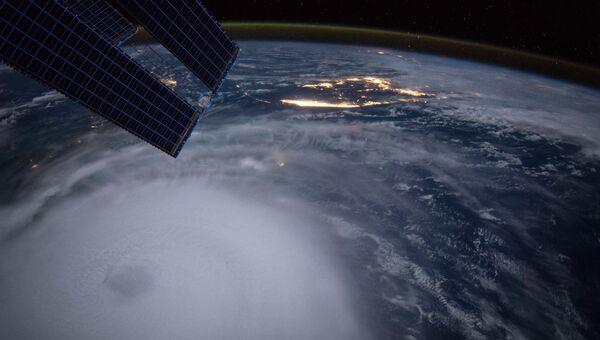 Фото урагана Хоакин, сделанное астронавтом Скотом Келли с борта МКС. Архивное фото