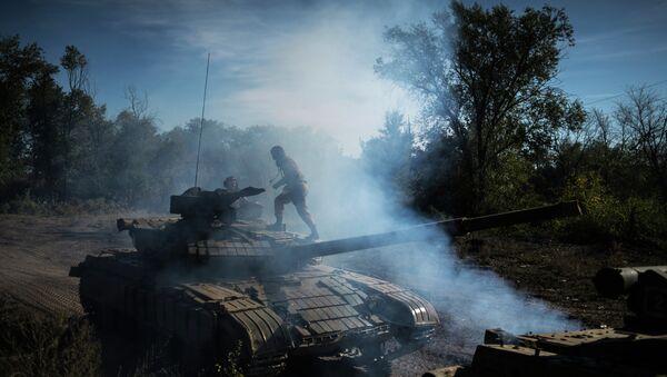 Отвод вооружений калибром менее 100 мм начался в ЛНР. Архивное фото