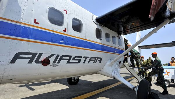 Поиски самолета компании Aviastar в Индонезии