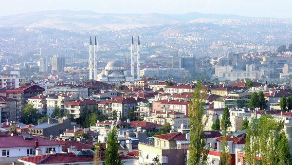 Вид Анкары. Архивное фото