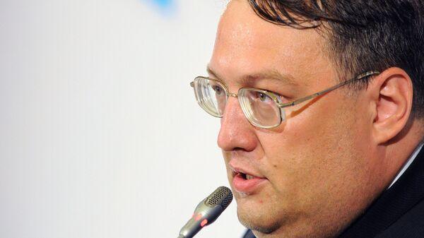 Советник министра внутренних дел Украины Антон Геращенко. Архивное фото