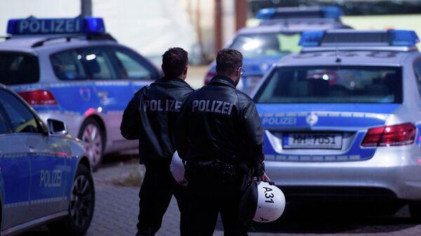 Полиция Гамбурга. Архивное фото