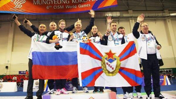 Сборная Вооруженных Сил России по фехтованию на Всемирных военных играх 2015 в Южной Корее