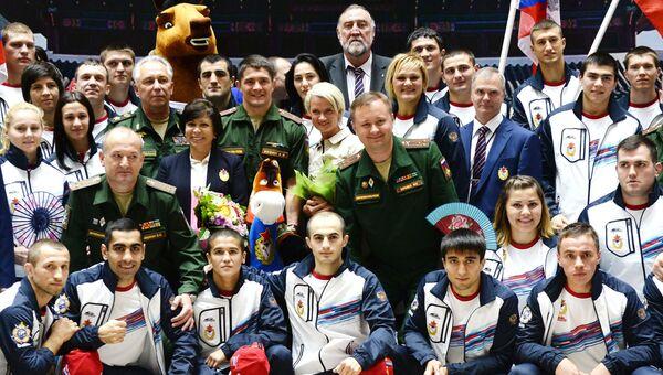 Сборная команда Вооруженных Сил России на VI Всемирных военных играх