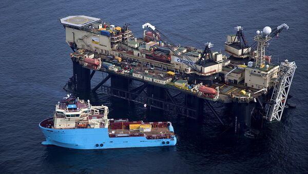 Судно Castoro 6. Строительство газопровода Северный поток в Балтийском море
