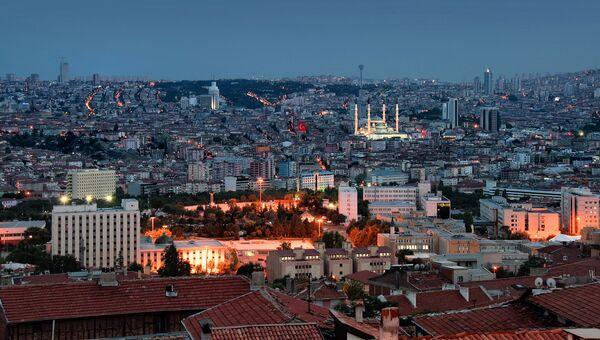 Город Анкара, Турция. Архивное фото
