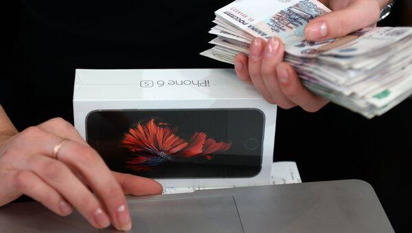 Старт продаж новых iPhone 6s и iPhone 6s Plus в Москве