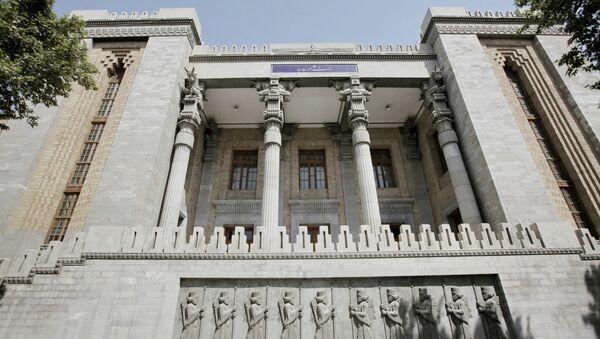 Здание Министерства иностранных дел Ирана