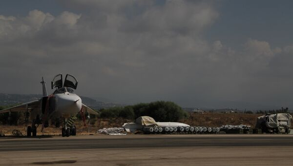 Фугасные авиабомбы на базе Хмеймим