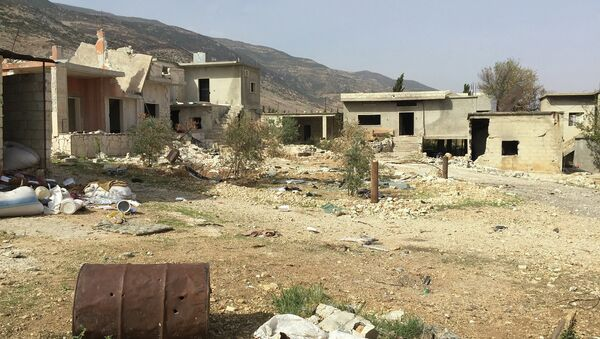 Деревня Саф-Сафа (провинция Хама), освобожденная сирийской армией от боевиков Фронта ан-Нусра. Архивное фото