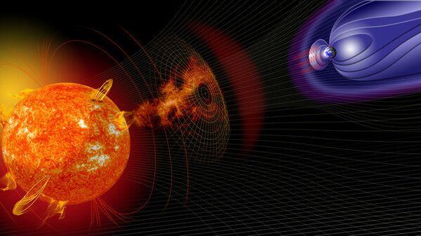 Мощные магнитные бури после вспышек на Солнце могут быть очень опасны