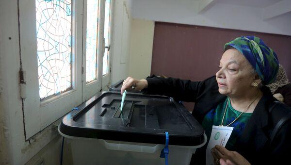 Голосование на выборах в Египте