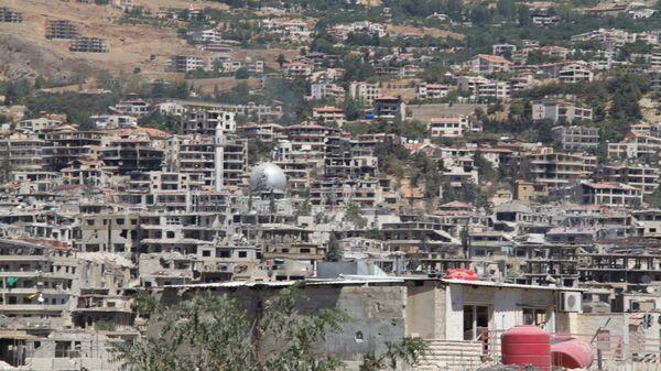 Город Забадани, пригород Дамаска
