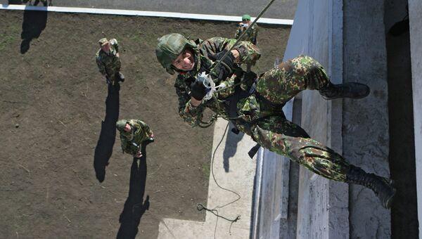 Общероссийские соревнования спецназа внутренних войск